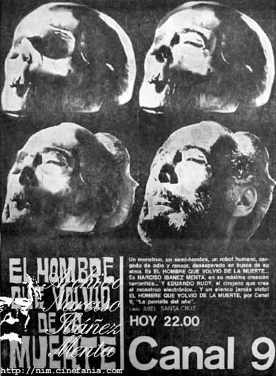 El hombre que volvio de la muerte 1969