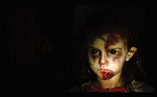 Claudia Font, niña contagiada en REC (2007)
