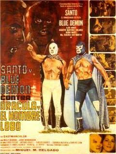santo y blue demon contra drácula y hombre lobo