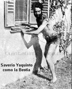 EL HOMBRE BESTIA (1935)