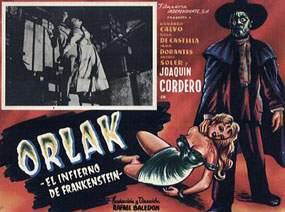 ORLAK, EL INFIERNO DE FRANKENSTEIN