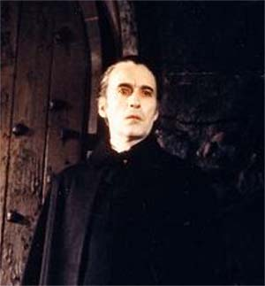DRACULA, en la fina estampa de Christopher Lee