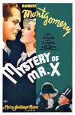 MYSTERY OF MR. X, THE