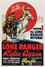 LONE RANGER RIDES AGAIN, THE